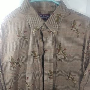Roundtree & Yorke NWOT Large 100% Cotton Geese